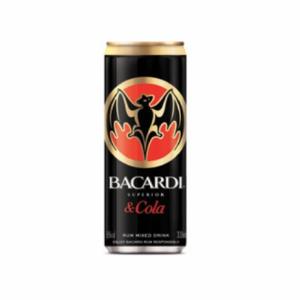 Bacardi-Cola Pre-mix
